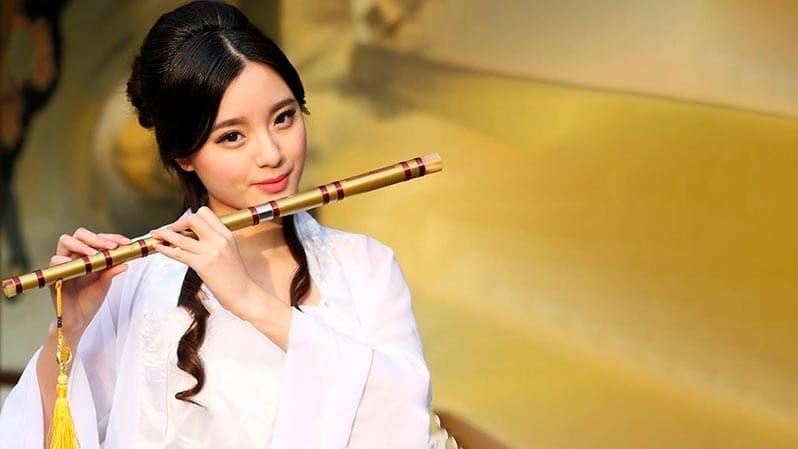 Бамбуковая флейта ди-цзы