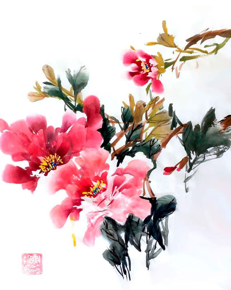 Се-И, китайская живопись. Мастер-классы Светланы Плакасовой.