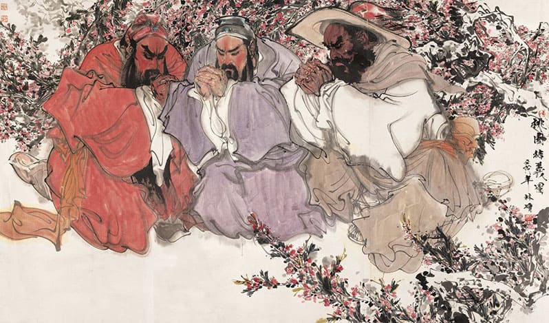 Клятва персикового сада - мифы и легенды Китая