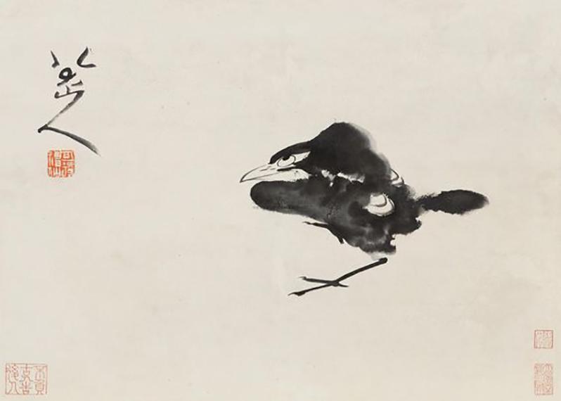Чжу Да – знаменитый живописец на стыке династий Мин и Цин