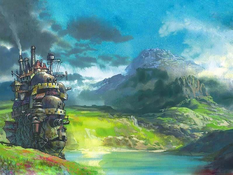 🌈Мастер класс художника Ольги Соболь Ходячий замок