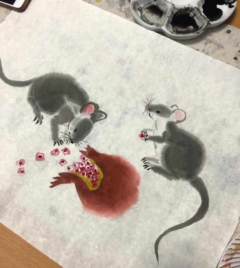 Рисуем мышек