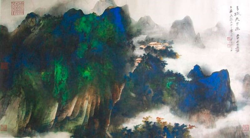 Вселенная творчества.  Пейзажная живопись  Часть 1. Китайская пейзажная живопись