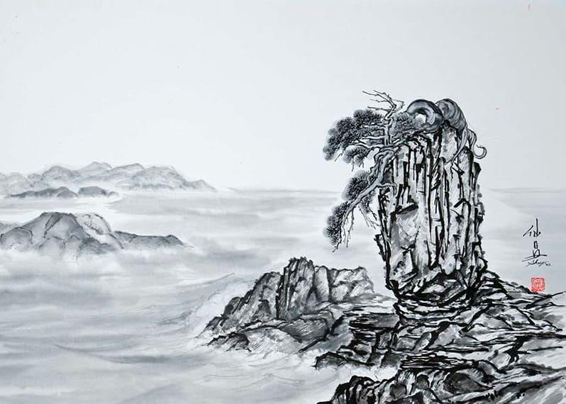 Суми-э: все, что вам нужно знать о японской живописи тушью