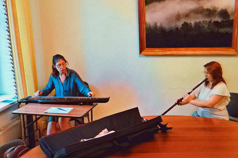 уроки игры на древних китайских инструментах