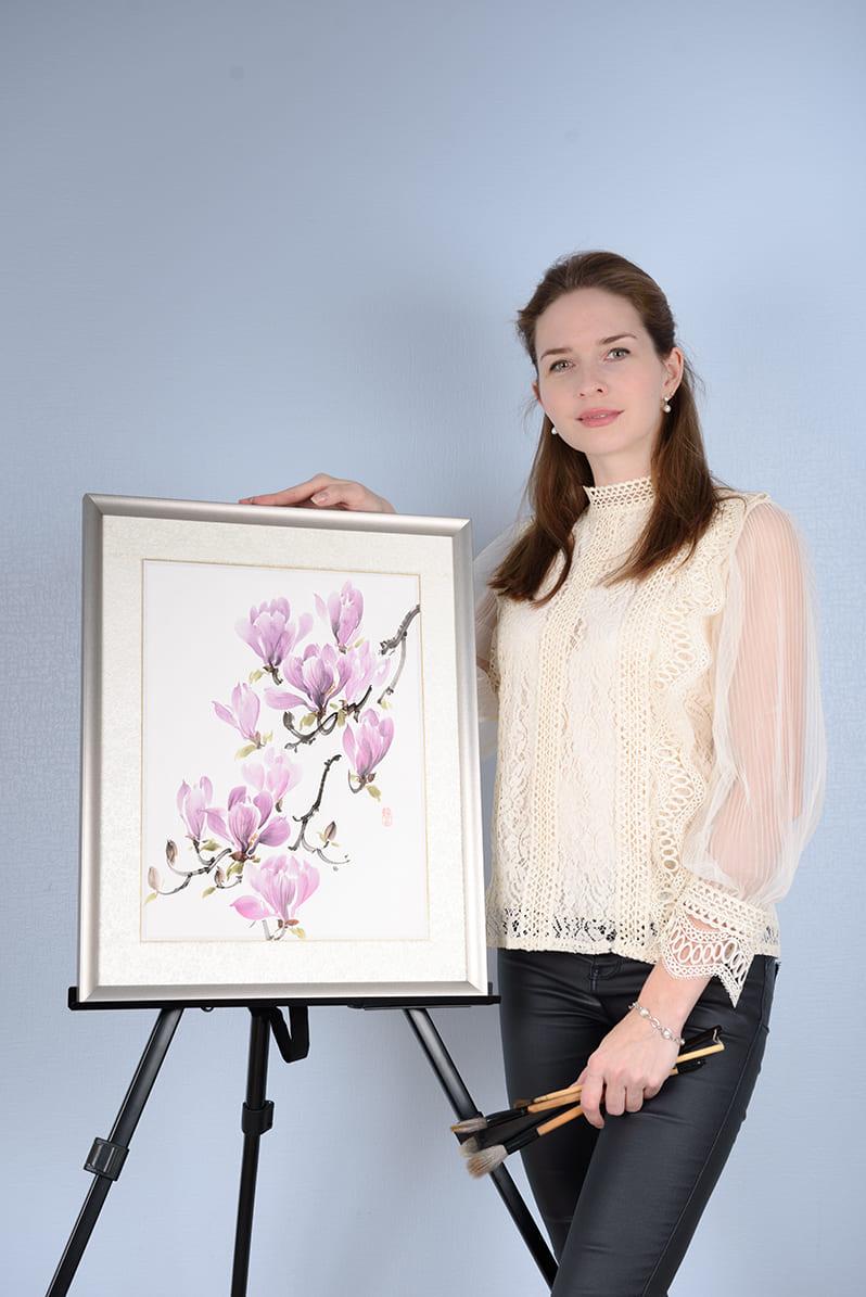 Легкий вход в японскую живопись c Александрой Васильевой