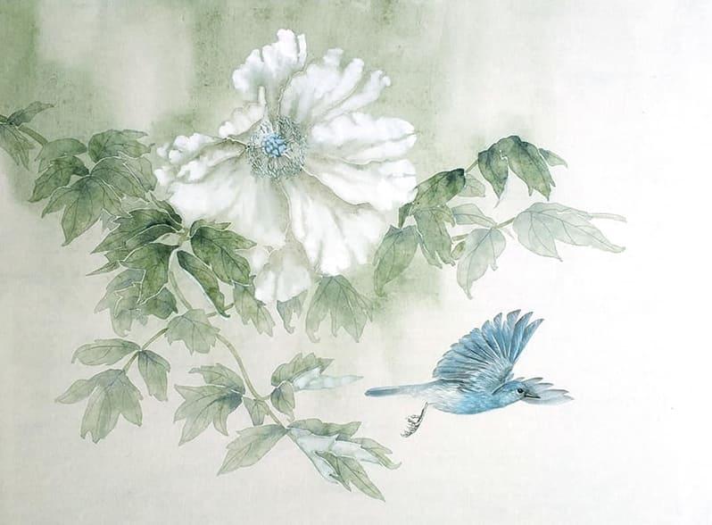 Занятия китайской живописи по воскресеньям с Олей Обуховой