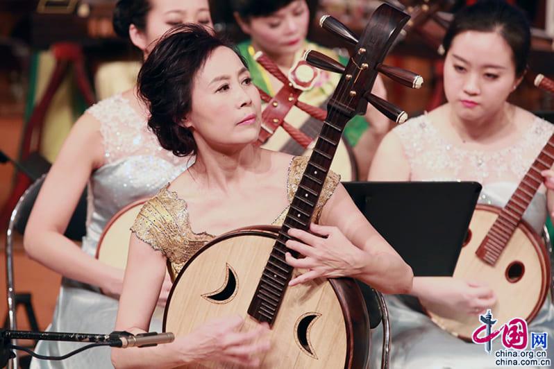 Музыкальные инструменты Китая: Жуань