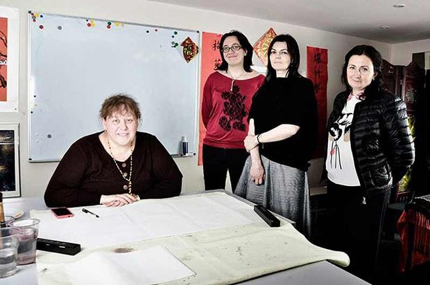 Воплощение нашей мечты началось в мастерской знаменитой художницы Москвы Юлии Наумовой