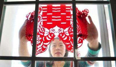 Традиционная китайская техника «цзяньчжи» (вырезание из бумаги)