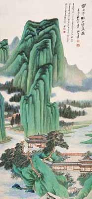 Китайская живопись. Чжан Дацянь