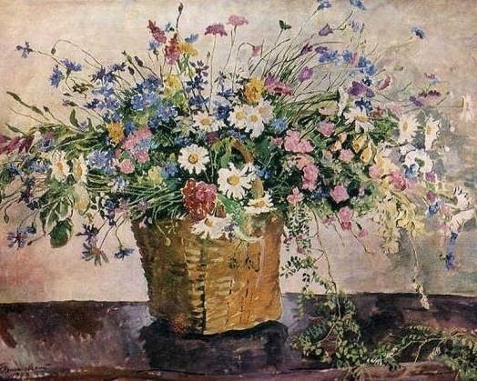 Мастер класс по масляной живописи: цветы
