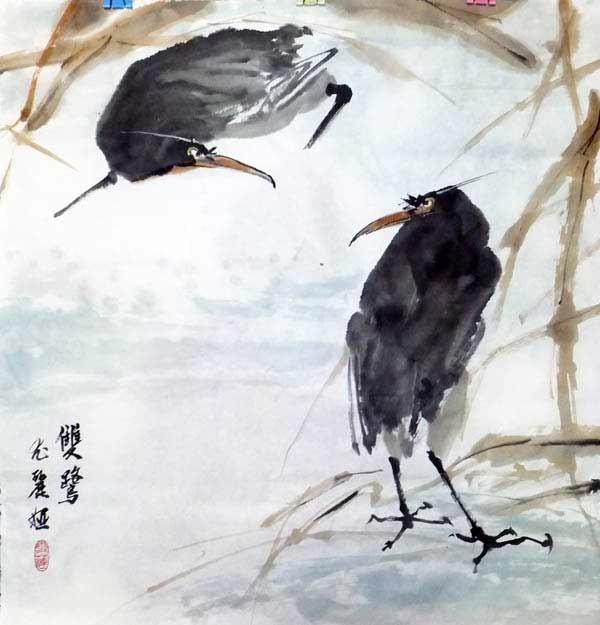 Китайская живопись. Юлия Наумова