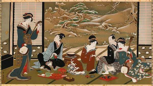 Японская живопись - древнейший вид искусства