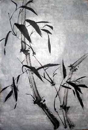 Бамбук - одно из четырех благородных растений