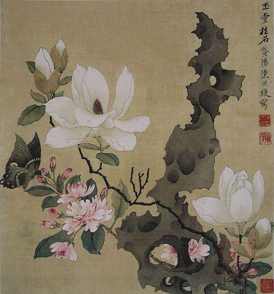 Стили китайской живописи: гунби