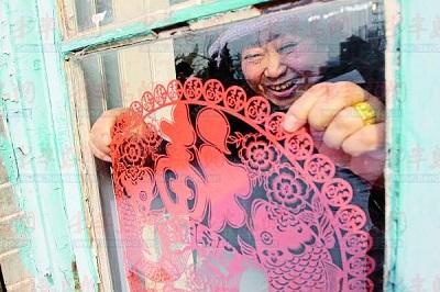 Традиционная китайская техника цзяньчжи вырезание бумаги