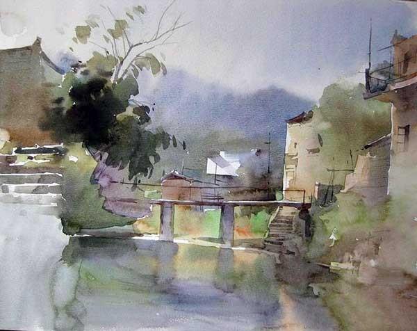 Китайский художник Лю И