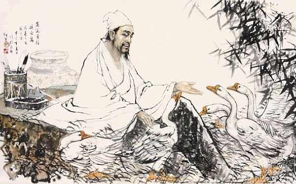 Китайский каллиграф Ван Сичжи