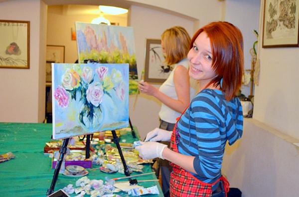Курсы масляной живописи для взрослых