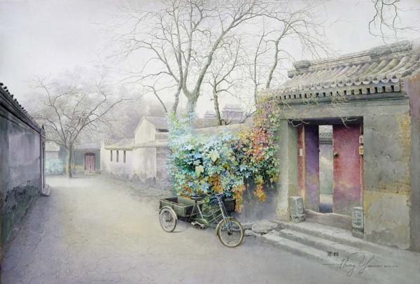 Китайская акварельная живопись