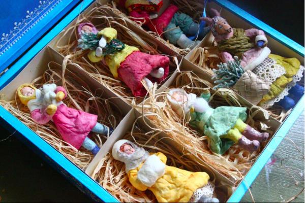 Ретро елочные игрушки