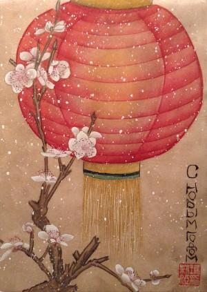 Мастер-класс Китайской живописи ГУНБИ Открытки