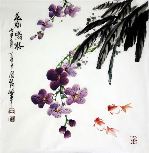 Основные жанры традиционной китайской живописи