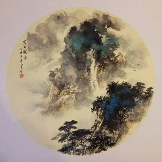 Современный китайский пейзаж