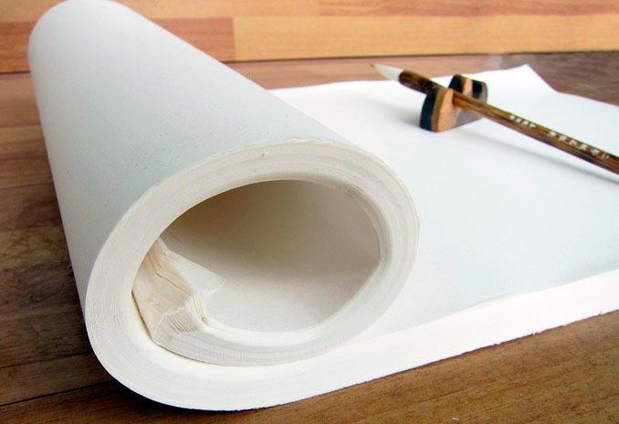 как выбрать бумагу для китайской живописи