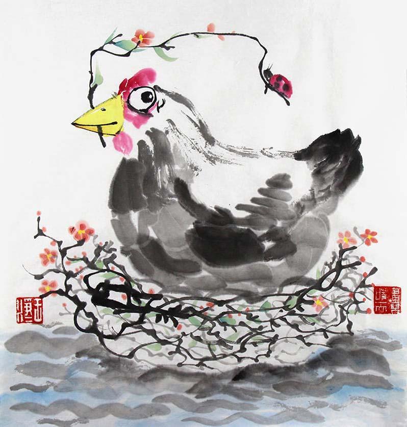 Продолжается набор в детскую группу по изучению китайской живописи