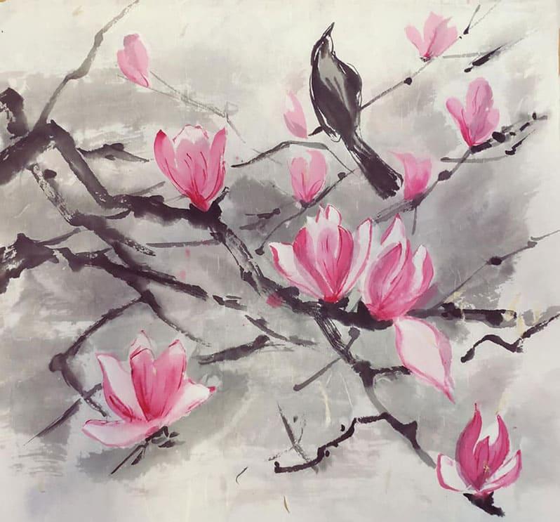 Группа японской живописи
