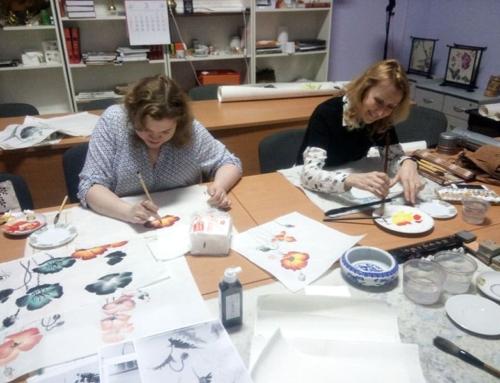 Занятия китайской живописью по средам с Анной Павленко