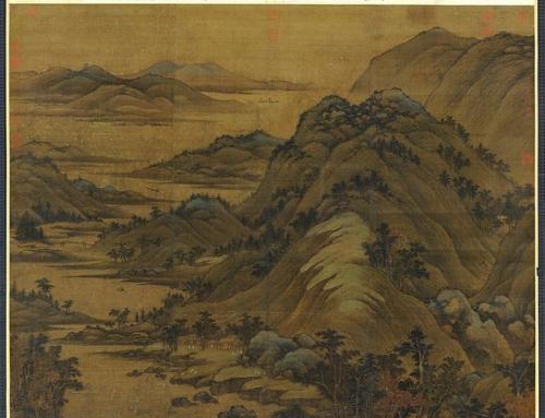 Дун Юань — мастер классического китайского пейзажа