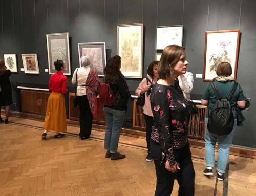 Вчера состоялось открытие 3-го Фестиваля живописи гунби