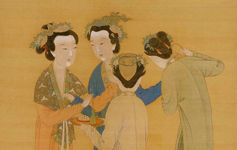 Китайский художник Тан Инь