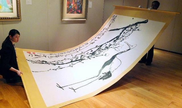 Китайский художник Дин Яньон
