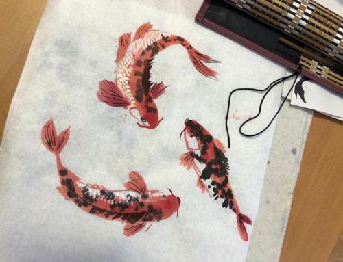 Напомним вам, друзья, что вы можете присоединиться или записаться в новые группы китайской и японской живописи, а также китайской каллиграфии!