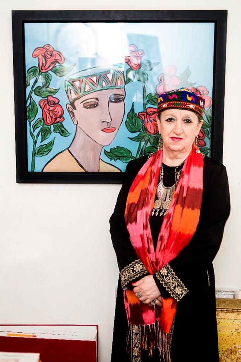Татьяна Метакса отмечает 50-летний юбилей работы в музее