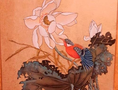 Обучение живописи гунби с Ольгой Лебедевой