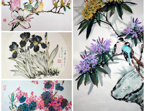 Блок видео-уроков по самостоятельному обучению китайской живописи