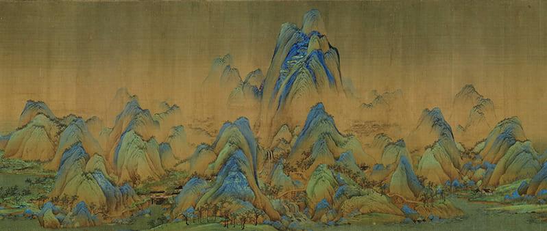 """Лекция-знакомство со знаменитым свитком Ван Си Мэна """"Тысяча ли Гор и Вод"""""""