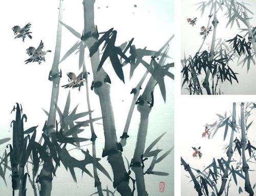 Тема субботних занятий в группе се-и у Ольги Обуховой – бамбук