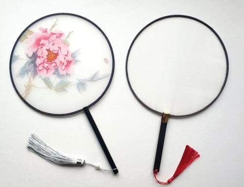 Весенний мастер-класс «Роспись шелкового веера в технике могуфа»