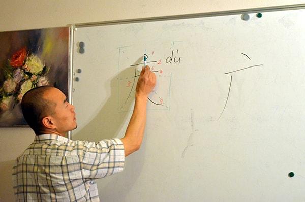 Вопросы об обучении китайской каллиграфии