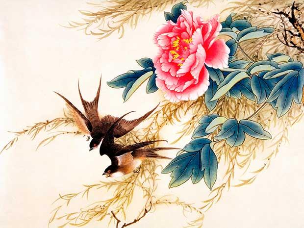Ласточка в китайской живописи