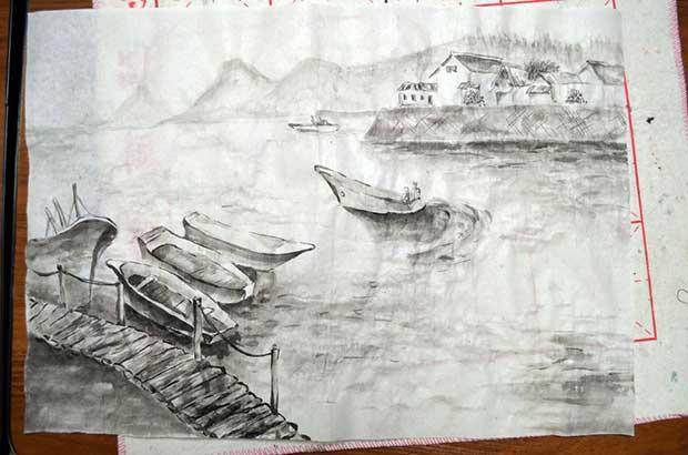 японская живопись для души